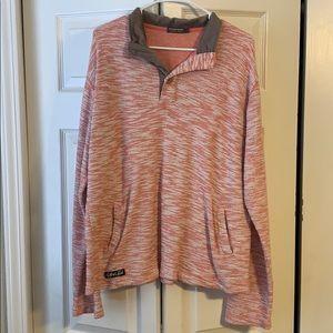 Flattering pink sweater